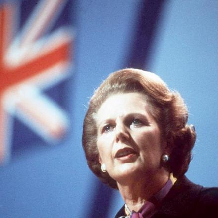RIGHT-TO-BUY: Margaret Thatcher