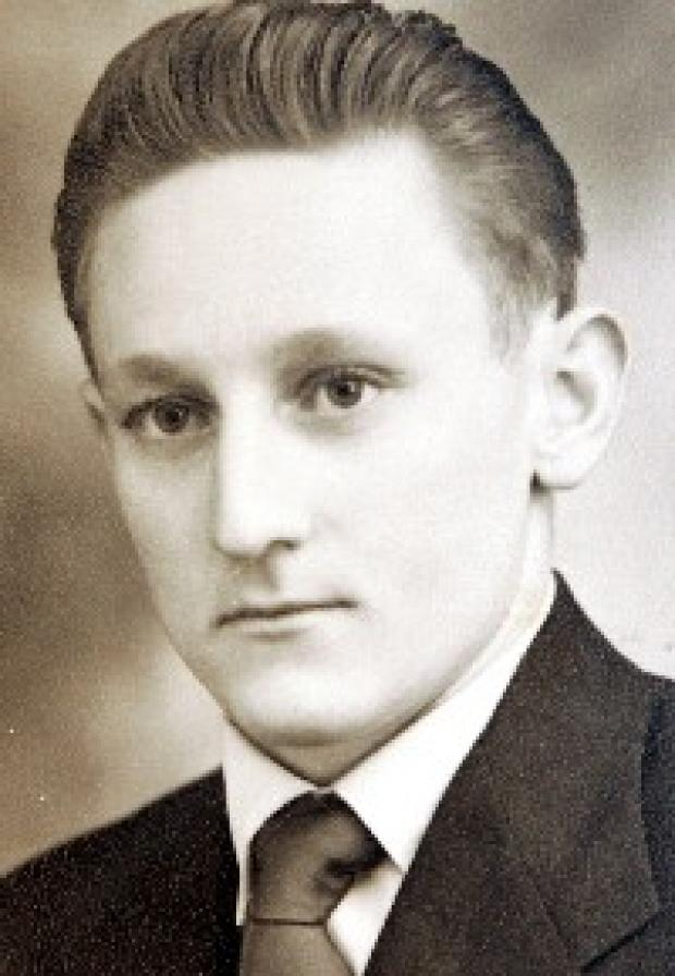 Imre as a young man before he left Hungary