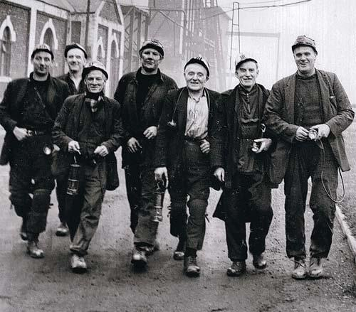 KNOCKING OFF: The last shift at Mainsforth Colliery