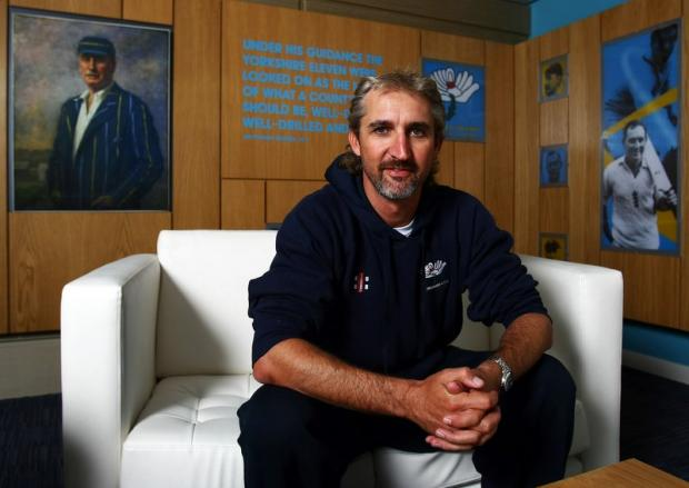 EARLY START: New coach Jason Gillespie