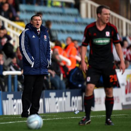 No need for a shake-up insists Boro manager