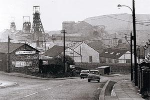 COLLIERY VIEW: Looking down Durham Bank towards Dean and Chapter Colliery in the Sixties