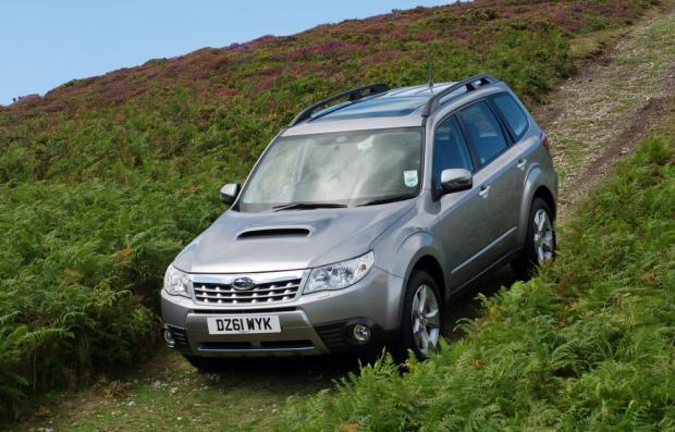 The Northern Echo: Subaru is a decent off-roader