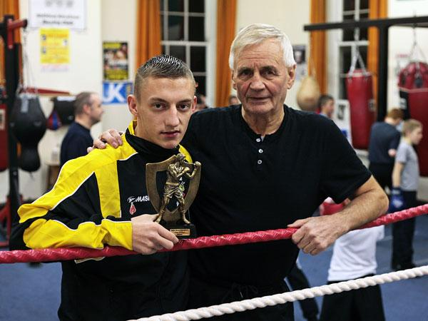 THE timing lost on no one, much celebration around Shildon Amateur Boxing ...