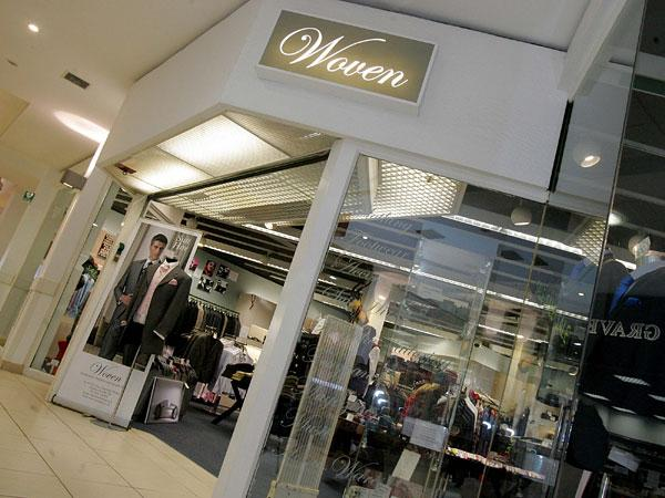 WINNER: Woven gents' clothing store