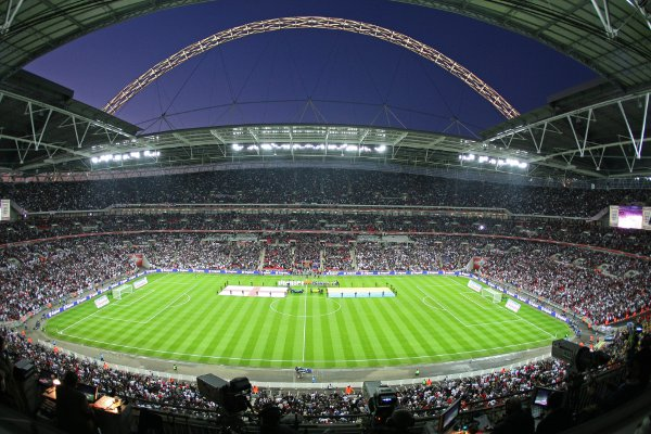 Wembley Stadium which Thorn Lighting helped light up & Thorn Lighting in Spennymoor County Durham will make 120000 ...