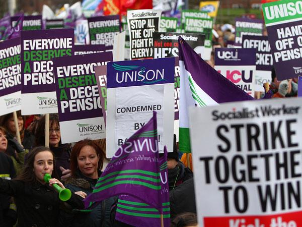 The Government could see a repeat of the strikes over pensions in the pubic sector last year