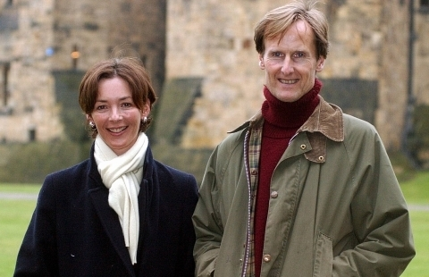 Pasty fans; Duchess and Duke of Northumberland