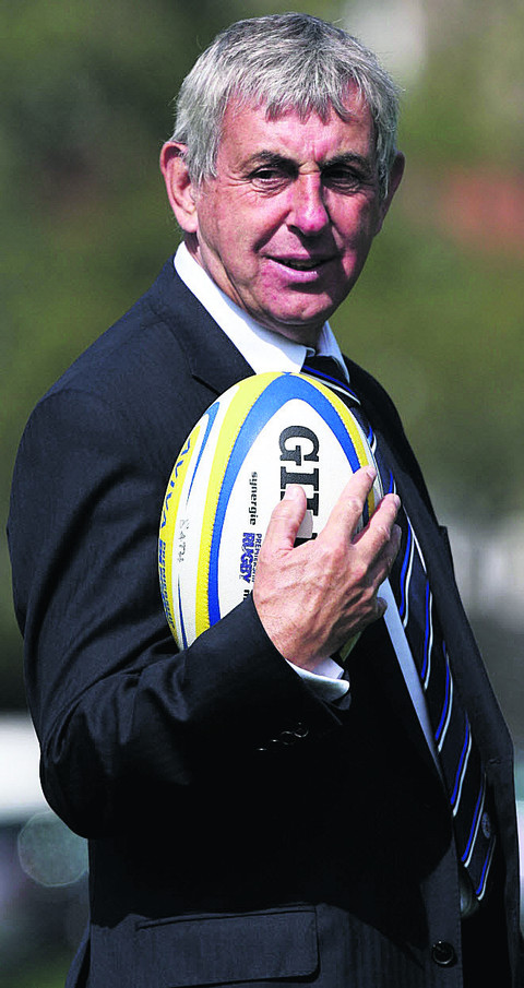 BIG PLANS: Sir Ian McGeechan