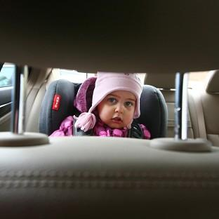 Two per cent of parents spend at least 50 hours a month driving their children around, a survey found