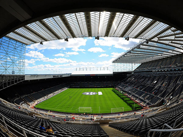LAND SALE: Newcastle United are selling a plot of land behind the Gallowgate End at St James' Park
