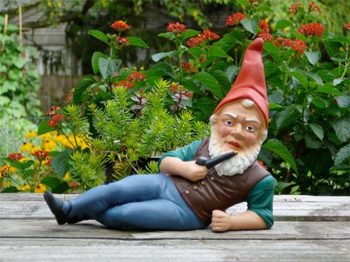 A garden gnome was among the stolen items recovered by Darlington police