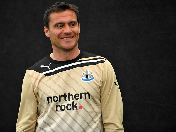 MEMORIES: Steve Harper was part of the last Newcastle squad to play in the Champions League under Sir Bobby Robson