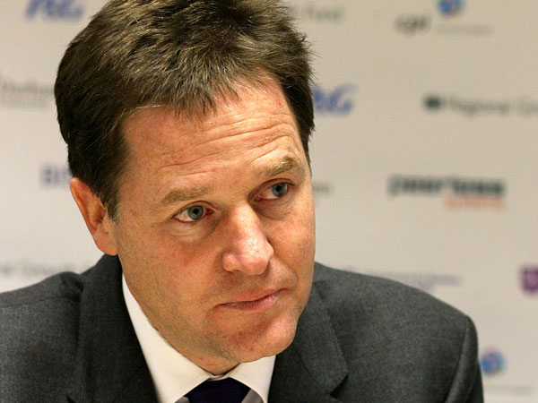 Nick Clegg oversees the Regional Growth Fund
