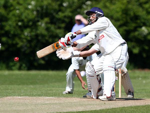 IN THE RUNS: Billingham's Tariq Aziz scored 45 as Synthonia drew with Marske