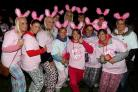 Women at last year's Midnight Walk