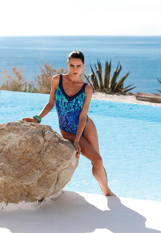 Water babes should feel at one with the ocean. LS Schmidt's one-piece, £85 (peterhahn.co.uk)