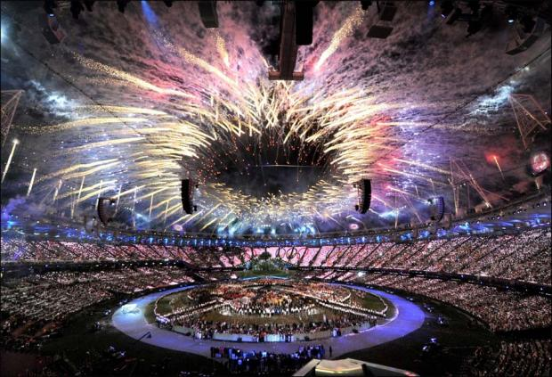 The Northern Echo: Pictures from the opening ceremony of the 2012 Olympic Games.