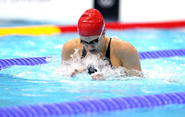 BRITISH CHAMPION: Aimee Willmott claimed the British 400m Individual Medley title and qualified for the English team at the Commonwealth Games