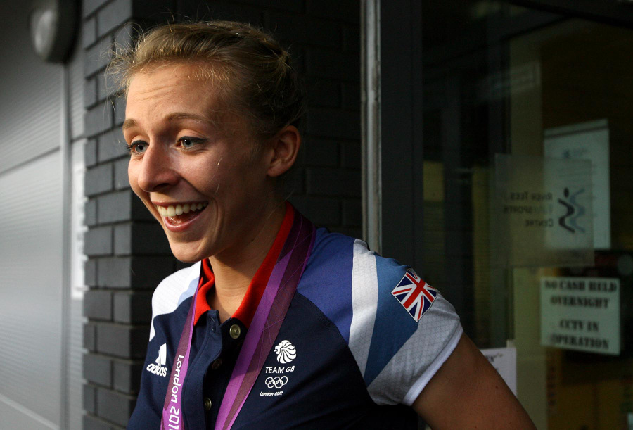 BACK IN ACTION: Kat Copeland made a winning return at the British trials after a year-long break from rowing