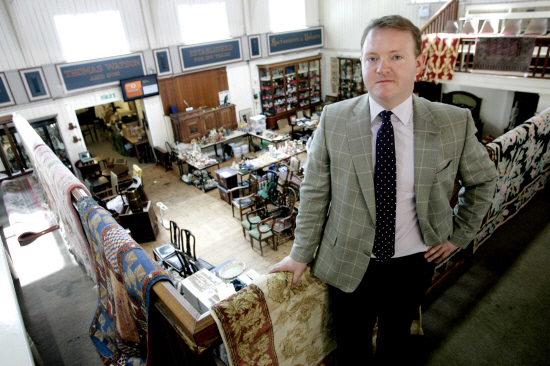 PERSONAL SERVICES: David Elstob, of Thomas Watson Auctioneers