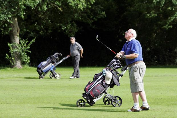 MERGER PLAN: Golfers at Stressholme Golf Course, near Darlington