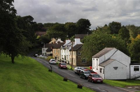 NORMALLY PEACEFUL: Redworth village