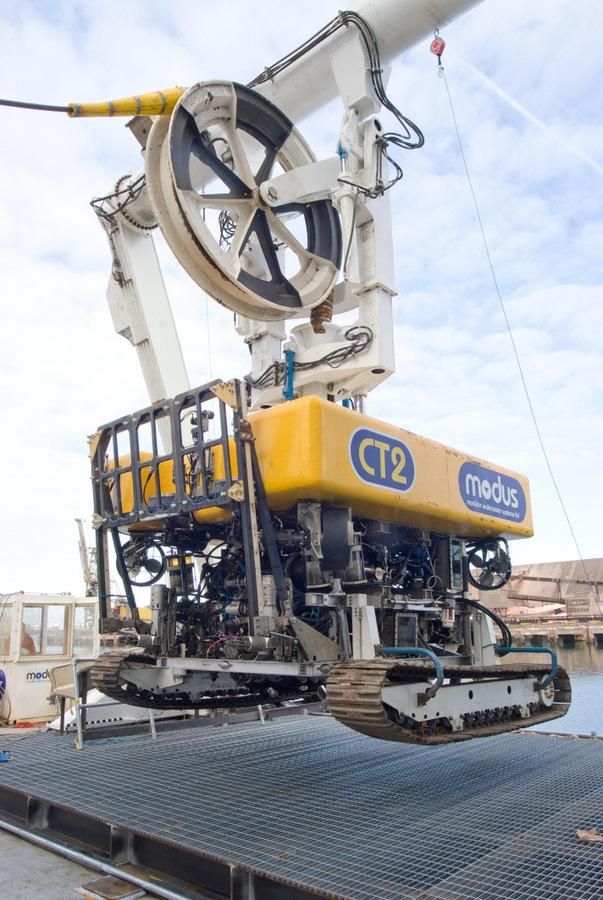The Northern Echo: Mouds CT2, which will be used to dig subsea trenches for the Teesside wind farm