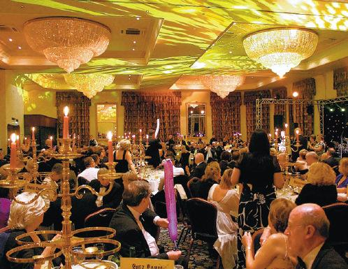 LOOKING BACK: A charity ball, for St Teresa's Hospice, at Hardwick Hall Hotel, near Sedgefield, last year
