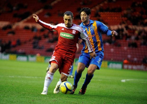 MAC ATTACK: Scott McDonald thinks that a feelgood factor can propel Middlesbrough to a good season