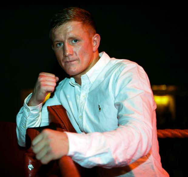 World aim: County Durham's Bradley Saunders is looking for big nights of boxing