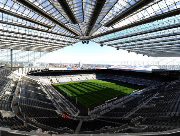 WHAT'S IN A NAME: St James' Park - which was renamed the Sports Direct Arena - has reverted back to his rightful title as part of the deal with Wonga