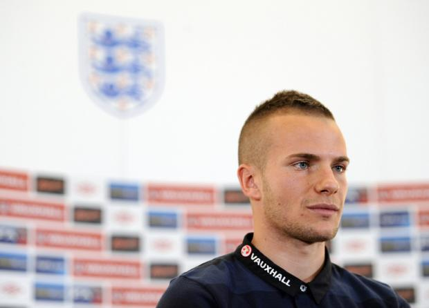 PROUD: Tom Cleverley