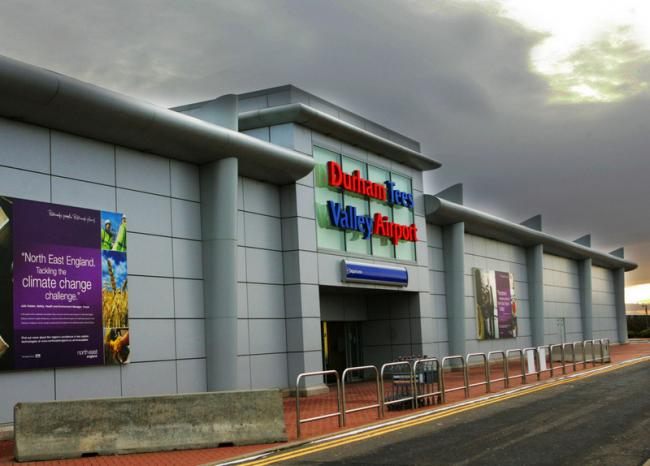 Campaign launched to 'save' Durham Tees Valley Airport