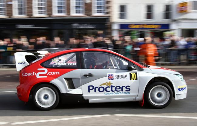 Northallerton High Street handed over to top motorsport drivers ...