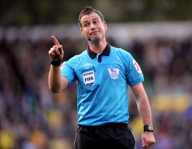 IN THE SPOTLIGHT: North-East referee Mark Clattenburg's conduct has been questioned
