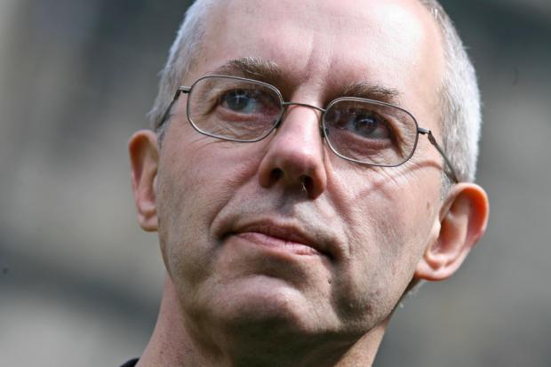 The Right Reverend Justin Welby