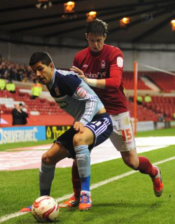 BARGAIN BUY: Emmanuel Ledesma in action for Boro at Nottingham Forest last week