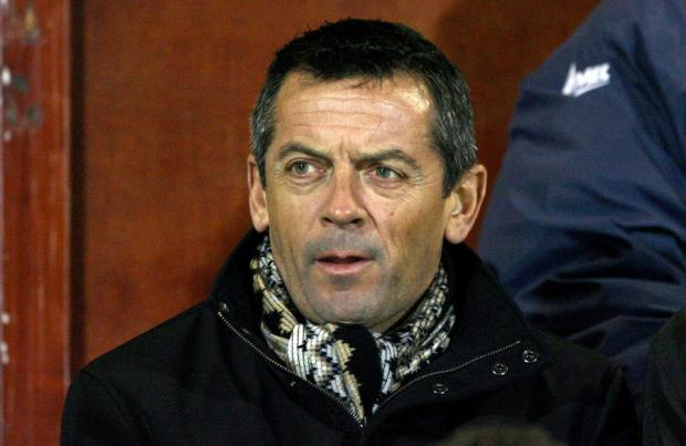CHALLENGE: Phil Brown has described the task of trying to keep Hartlepool Unitedin League One as