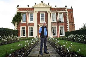 The Northern Echo: Bob Duff outside Biddick Hall, the perfect setting for films and functions