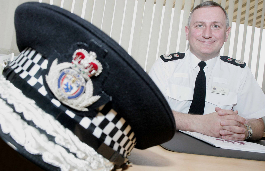 OUT OF OFFICE: Former Cleveland Chief Constable Sean Price, who was dismissed by the force last month