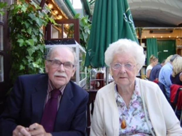 CARING ATTITUDE: Dr Alastair McIntosh and his wife Grete Lise
