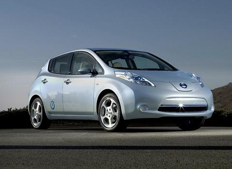Nissan's all-electric Leaf