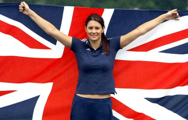 Middlesbrough's Aimee Wilmott who swam for team GB in the Olympics.