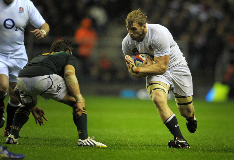 ON THE FRONT FOOT: Robshaw has been criticised for his decision making at the weekend