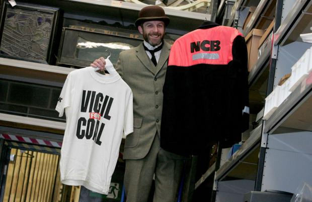 The Northern Echo: TOUGH TIMES: Beamish director Richard Evans takes a closer look at some of the items from the 1980s that are held in the museum archive