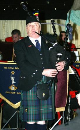 Piper Arthur Middleton of The Northern Craftsman