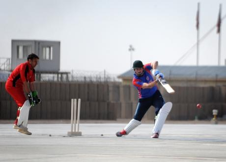 REG Troops from region lose to Afghan National Army at cricket