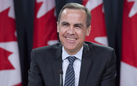 Economists said the interest rate fall would ease pressure on the Bank of England (pictured, Governor Mark Carney) to raise interest rates