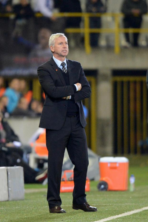 RUN OF DEFEATS: Alan Pardew will be hoping his team can end a run of poor results against Wigan this evening